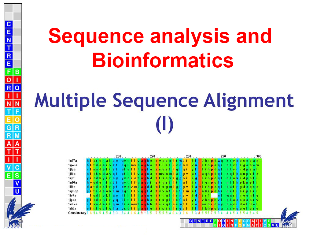 Introduction to Sequence analysis and Bioinformatics